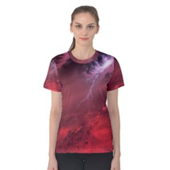 Storm Clouds And Rain Molten Iron May Be Common Occurrences Of Failed Stars Known As Brown Dwarfs Women s Cotton Tee