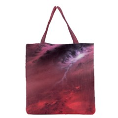 Storm Clouds And Rain Molten Iron May Be Common Occurrences Of Failed Stars Known As Brown Dwarfs Grocery Tote Bag