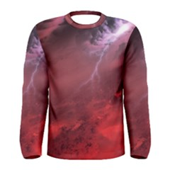 Storm Clouds And Rain Molten Iron May Be Common Occurrences Of Failed Stars Known As Brown Dwarfs Men s Long Sleeve Tee