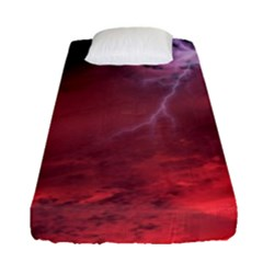 Storm Clouds And Rain Molten Iron May Be Common Occurrences Of Failed Stars Known As Brown Dwarfs Fitted Sheet (single Size)