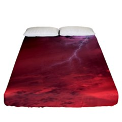 Storm Clouds And Rain Molten Iron May Be Common Occurrences Of Failed Stars Known As Brown Dwarfs Fitted Sheet (king Size)