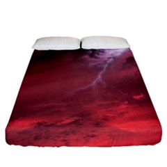 Storm Clouds And Rain Molten Iron May Be Common Occurrences Of Failed Stars Known As Brown Dwarfs Fitted Sheet (california King Size)