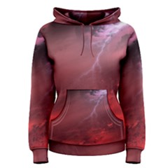Storm Clouds And Rain Molten Iron May Be Common Occurrences Of Failed Stars Known As Brown Dwarfs Women s Pullover Hoodie