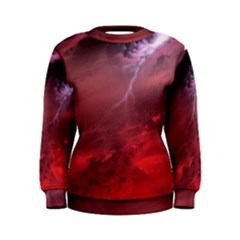 Storm Clouds And Rain Molten Iron May Be Common Occurrences Of Failed Stars Known As Brown Dwarfs Women s Sweatshirt