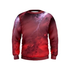 Storm Clouds And Rain Molten Iron May Be Common Occurrences Of Failed Stars Known As Brown Dwarfs Kids  Sweatshirt