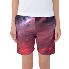 Storm Clouds And Rain Molten Iron May Be Common Occurrences Of Failed Stars Known As Brown Dwarfs Women s Basketball Shorts