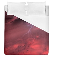 Storm Clouds And Rain Molten Iron May Be Common Occurrences Of Failed Stars Known As Brown Dwarfs Duvet Cover (queen Size)