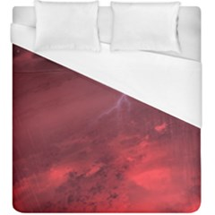 Storm Clouds And Rain Molten Iron May Be Common Occurrences Of Failed Stars Known As Brown Dwarfs Duvet Cover (king Size)