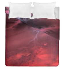 Storm Clouds And Rain Molten Iron May Be Common Occurrences Of Failed Stars Known As Brown Dwarfs Duvet Cover Double Side (queen Size)