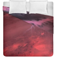 Storm Clouds And Rain Molten Iron May Be Common Occurrences Of Failed Stars Known As Brown Dwarfs Duvet Cover Double Side (king Size)