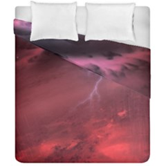 Storm Clouds And Rain Molten Iron May Be Common Occurrences Of Failed Stars Known As Brown Dwarfs Duvet Cover Double Side (california King Size)