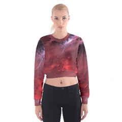 Storm Clouds And Rain Molten Iron May Be Common Occurrences Of Failed Stars Known As Brown Dwarfs Women s Cropped Sweatshirt