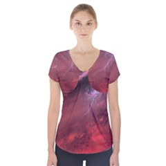Storm Clouds And Rain Molten Iron May Be Common Occurrences Of Failed Stars Known As Brown Dwarfs Short Sleeve Front Detail Top