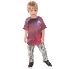Storm Clouds And Rain Molten Iron May Be Common Occurrences Of Failed Stars Known As Brown Dwarfs Kids  Raglan Tee