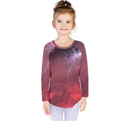 Storm Clouds And Rain Molten Iron May Be Common Occurrences Of Failed Stars Known As Brown Dwarfs Kids  Long Sleeve Tee