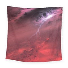 Storm Clouds And Rain Molten Iron May Be Common Occurrences Of Failed Stars Known As Brown Dwarfs Square Tapestry (Large)