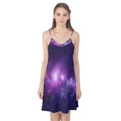 Galaxy Space Purple Camis Nightgown