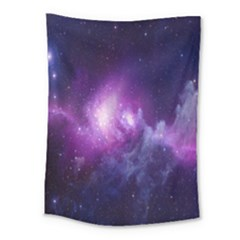 Galaxy Space Purple Medium Tapestry