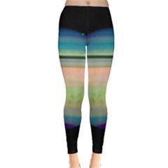True Color Variety Of The Planet Saturn Leggings