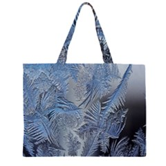 Frost Leafe Large Tote Bag