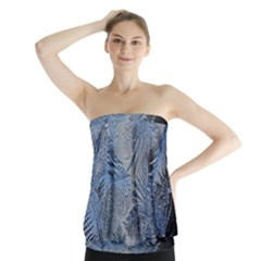 Frost Leafe Strapless Top