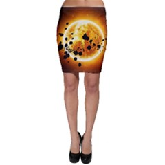 Sun Man Bodycon Skirt