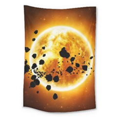 Sun Man Large Tapestry