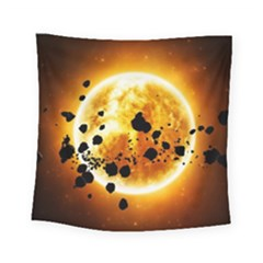 Sun Man Square Tapestry (Small)