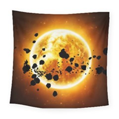Sun Man Square Tapestry (Large)