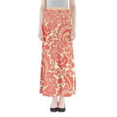 Red Floral Maxi Skirts
