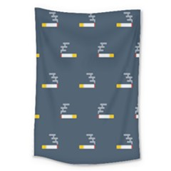Cigarette Grey Large Tapestry