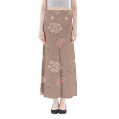 Bread Cake Brown Maxi Skirts