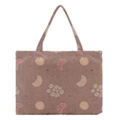 Bread Cake Brown Medium Tote Bag