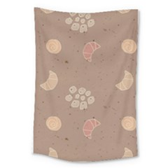Bread Cake Brown Large Tapestry