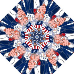 United States Of America Celebration Of Independence Day Uncle Sam Straight Umbrellas