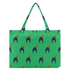 Comb Disco Green Medium Tote Bag