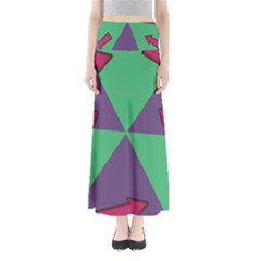 Daily Spinner Signpost Maxi Skirts