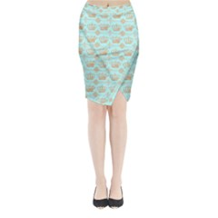 Crown King Paris Midi Wrap Pencil Skirt