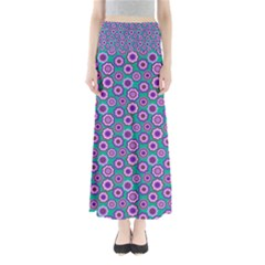 Clipart Floral Pattern Flower Purple Green Maxi Skirts
