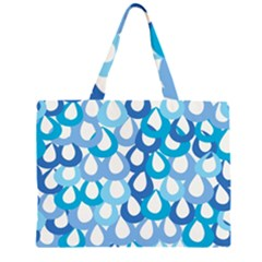 Fabrics Lucienne Blue Water Large Tote Bag