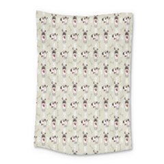 Face Dok Bone Numberpink Animals Small Tapestry