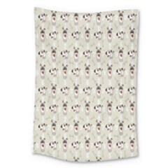 Face Dok Bone Numberpink Animals Large Tapestry