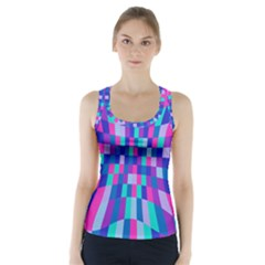 Flag Color Racer Back Sports Top