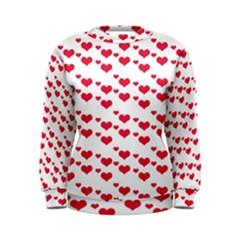 Heart Love Pink Valentine Day Women s Sweatshirt