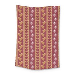 Heart Love Valentine Day Small Tapestry
