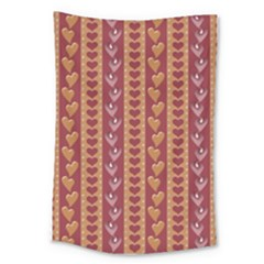 Heart Love Valentine Day Large Tapestry