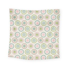 Motieven On Pinterest Laminas Para Decoupage Wallpapers Scrapbooking Flower Square Tapestry (small)