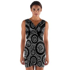Selected Figures From The Paper Circle Black Hole Wrap Front Bodycon Dress