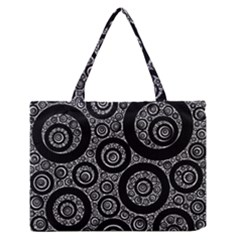 Selected Figures From The Paper Circle Black Hole Medium Zipper Tote Bag