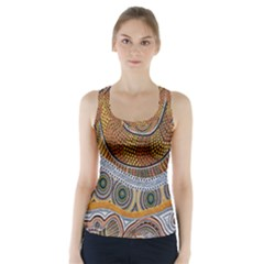 Batik Racer Back Sports Top